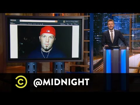 Wil Wheaton, Felicia Day & April Richardson - Fred Durst's Wish List - @midnight with Chris Hardwick
