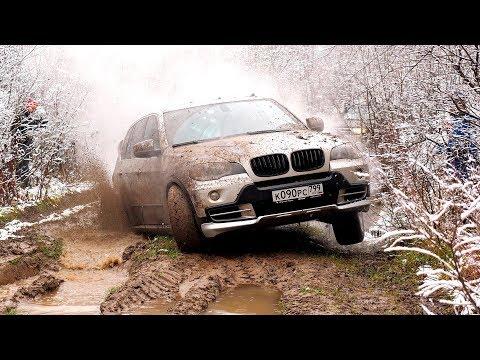 Кто УМРЁТ первым - BMW X5 или УАЗ Патриот на автомате?