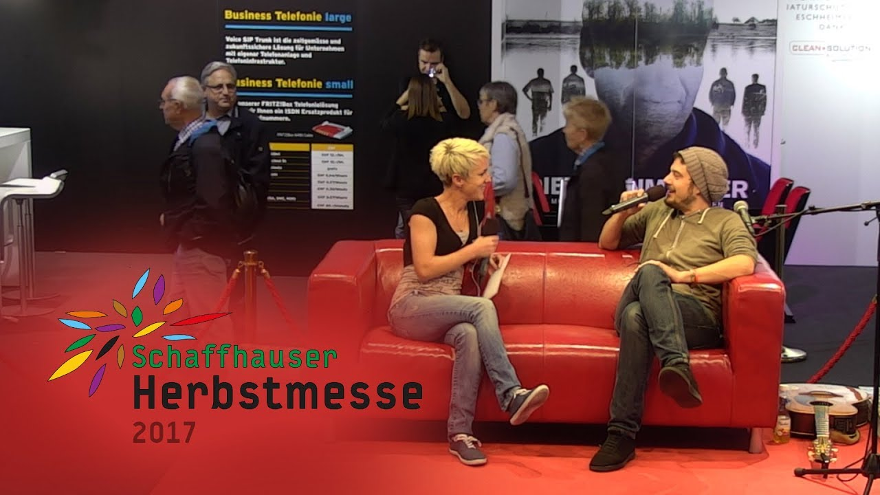 Herbstmesse 17 Tobias Carshey Zu Gast Auf Dem Roten Sofa Youtube