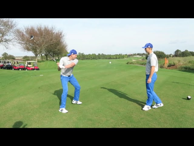 GOLF TRICK SHOTS WITH THE WHISTLE GOLF TEAM