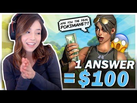 POKI GIVES $100 TO RANDOM DUOS!