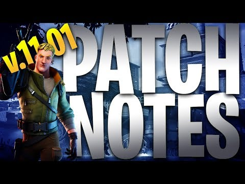 NEW HIDDEN Patch Notes* Fortnite Chapter 2