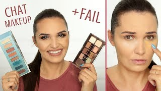 CHAT MAKEUP + FAIL | NYX, Nabla, Urban Decay, Hean, By Terry