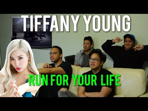 """TIFFANY YOUNG YOU GOTTA """"RUN FOR YOUR LIFE"""" (Reaction) #RFYL"""