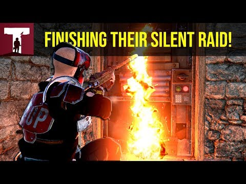 FINISHING THEIR SILENT RAID! (Rust Solo) thumbnail