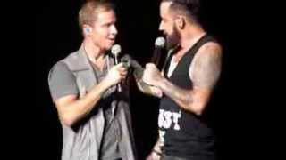 "Backstreet Boys ""Safest Place To Hide"" acapella and ""10,000 Promises"" acoustic live"