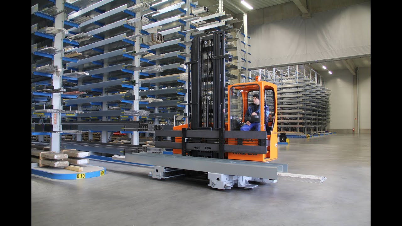 Hubtex Electric Multidirectional Sideloader Mq 25 In The