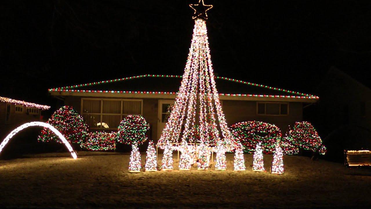 computerized christmas light display 2012 polar express - Computerized Christmas Lights