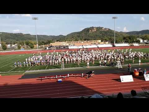 2017 Band Day at UW La Crosse - Master of Puppets by Metallica