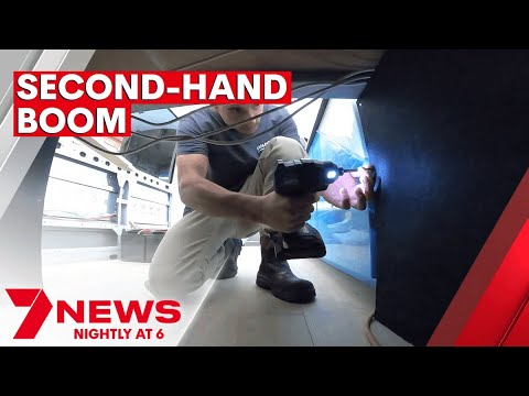 Australia's booming second-hand market growing the circular economy   7NEWS