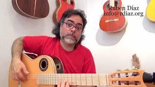 Tell a story when you play / Learning Paco de Lucia´s style / Modern flamenco guitar  Ruben Diaz
