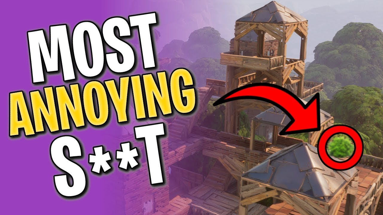 MOST ANNOYING THINGS IN FORTNITE BATTLE ROYALE - YouTube