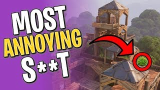 MOST ANNOYING THINGS IN FORTNITE BATTLE ROYALE