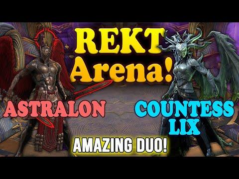 REKT Arena! - Countess Lix and Astralon | Raid Shadow Legends #Raid #RaidRPG #RaidShadowLegends