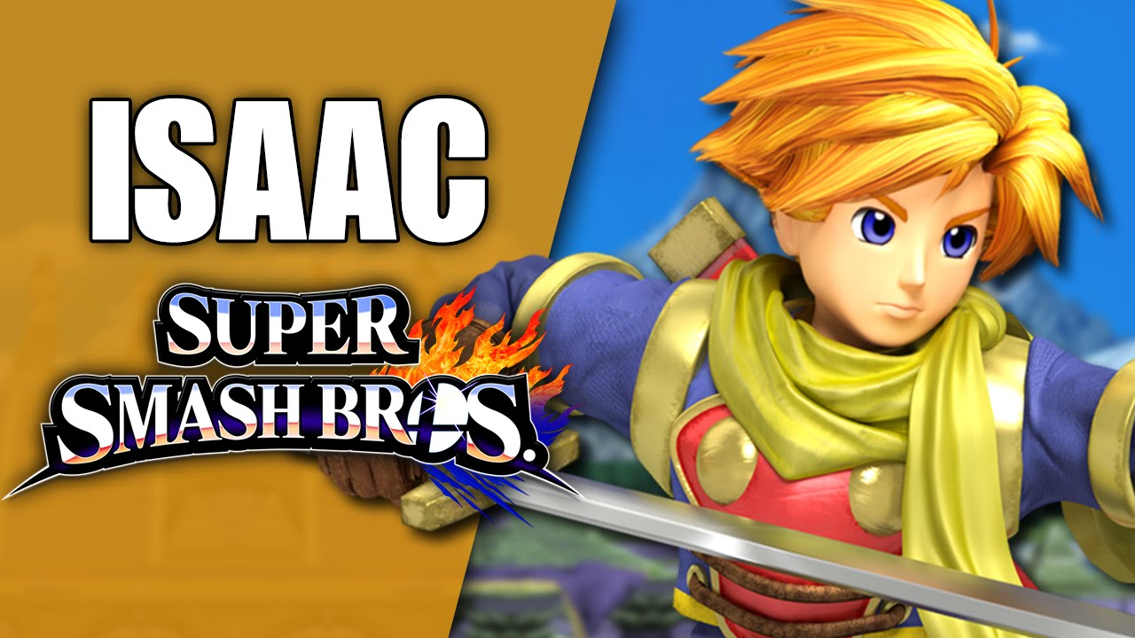 ISAAC (GOLDEN SUN) IN SUPER SMASH BROS! (Smash 4 Wii U Mod ...  ISAAC (GOLDEN S...