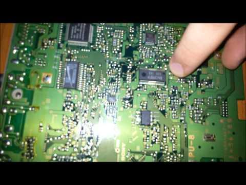 SCPH-1002 Modchip install   Installazione modifica SCPH-1002