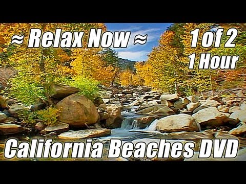 BEACH MEDITATION #1 Ocean Wave Sounds Relaxing Waterfalls White Noise soothing ambient Sleep