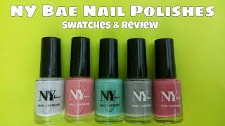 *NEW* NY Bae Nail Lacquers   Swatches & Review   Affordable Nail Polish   The Polished Girl