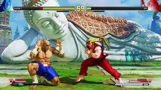 STREET FIGHTER V Ken vs Sagat