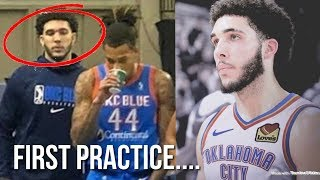 LiAngelo Ball UPDATE & First Practice With The G League Team OKC City Blue....