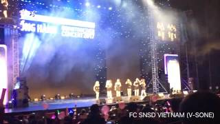 [FANCAM] 170401 SNSD - Going Together Concert in Hanoi (Full)