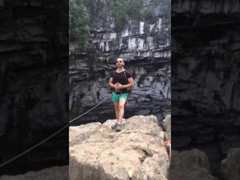Sotano de Las Golondrinas cave of swallows მსოფლიოს უდიდესი მერცხლების  მღვიმე