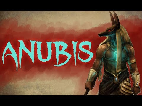 Anubis - Egyptian god of Judgement and Embalming