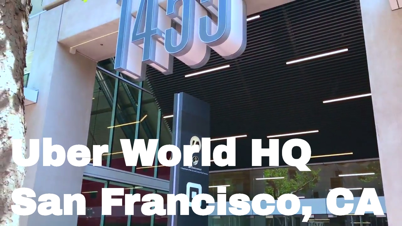 Uber San Francisco Office Headquarters - 1455 Market St ...