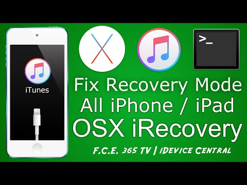 How To Kick Iphone Ipad Out Of Hard Recovery Mode On Osx Mac With Irecovery