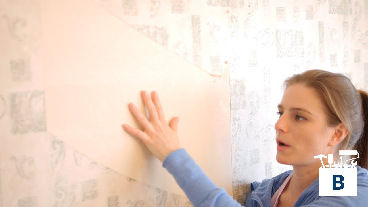 How to Remove Old Wallpaper - YouTube
