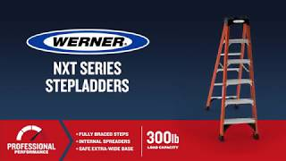 Werner Ladder - NXTIA00 Fiberglass Step Ladders