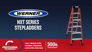Werner Ladder - NXTIA00 Fiberglass Step Ladders