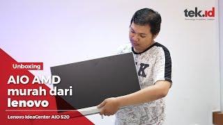 Unboxing Lenovo IdeaPad AIO 520 berprosesor AMD