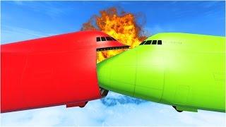 AMAZING AIRCRAFT ACCIDENT (GTA 5)
