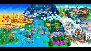 Gambar cover New Super Mario Bros./New Super Luigi U Music - All Map Themes (Medley)