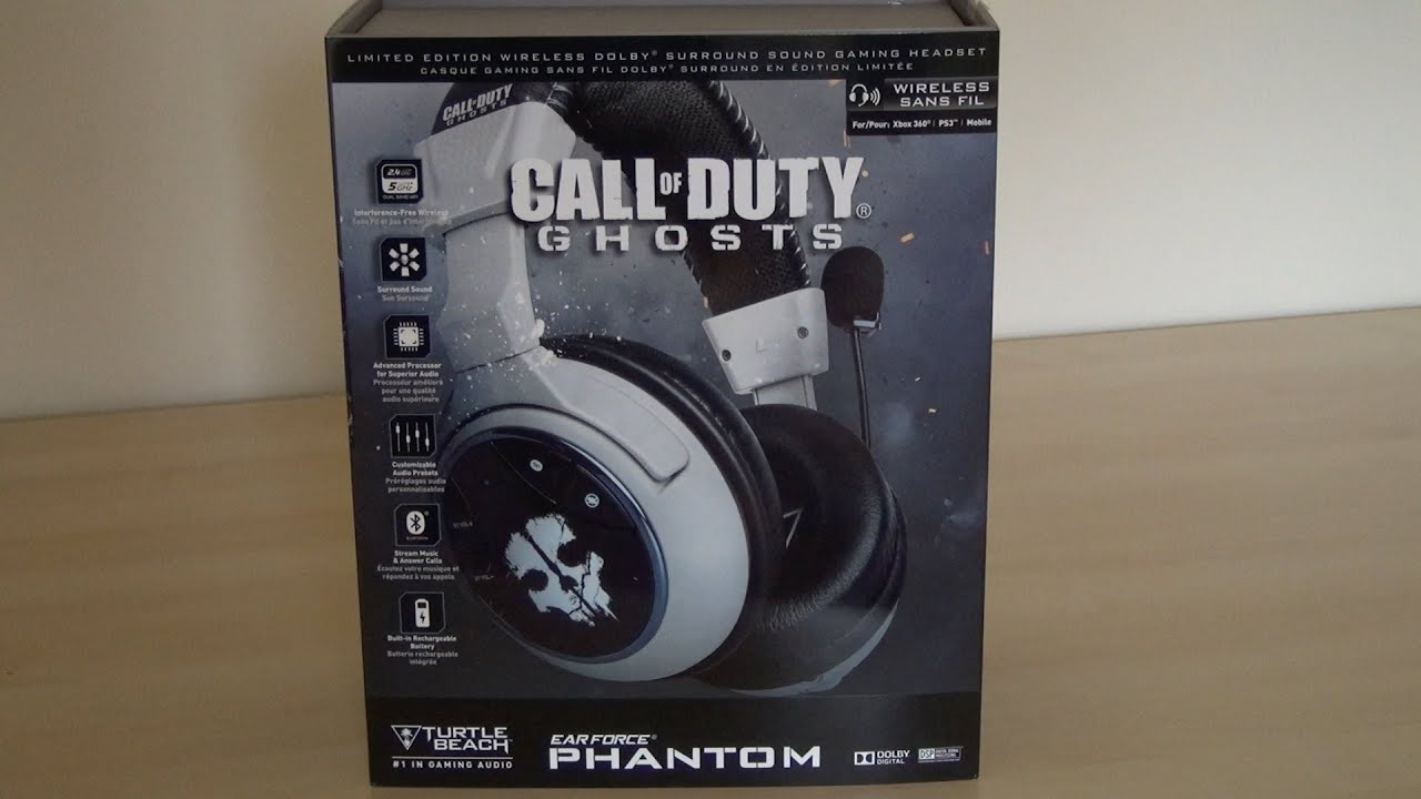 Turtle Beach Call Of Duty Ghosts Ear Force Phantom