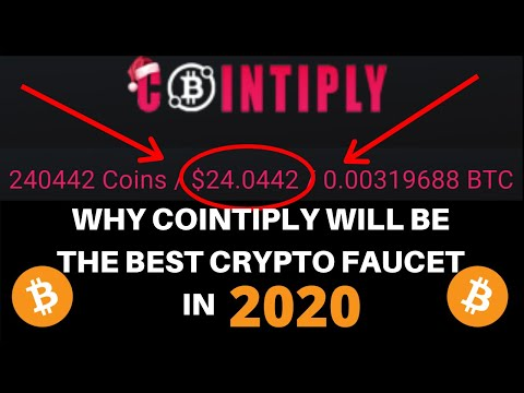 WHY COINTIPLY WILL BE THE BEST CRYPTO FAUCET IN 2020