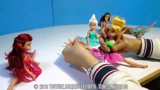 Феи Дисней Принцессы Куклы мультики игры и видео для девочек