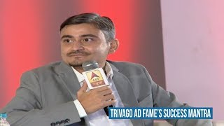 Watch: Trivago ad fame Abhinav Kumar's success mantra for startups