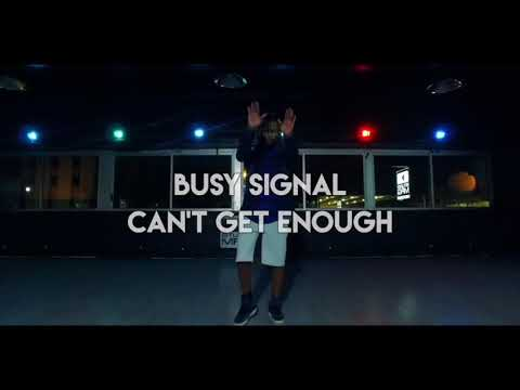 JIGGY - Can't Get Enough by Busy Signal (dance video)