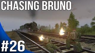 Men of War Red Tide Walkthrough - Mansteins Guns - Chasing Bruno