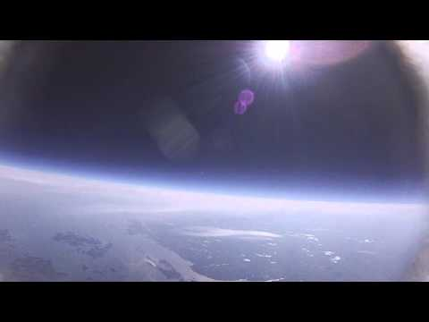 Space Balloon Launch: Ground to Ocean