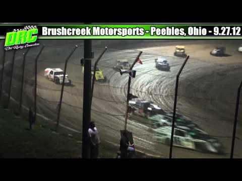 Brushcreek Motorsports Complex 9.27.12 UMP Modifieds