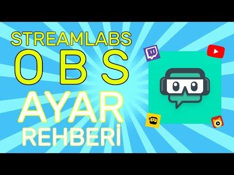 Streamlabs OBS Ayarları - Canlı Yayın Programı | ExWeiv