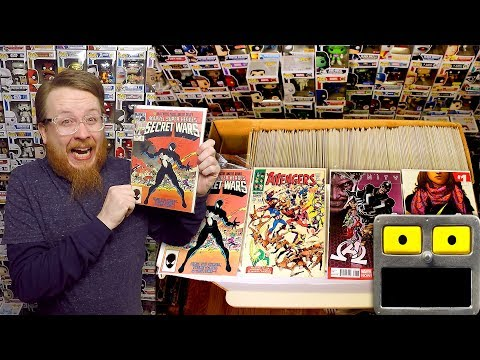 Epic 2 Long Boxes Of Comics Comic Book Collection Haul Bronze Age Unboxing Key Issue Finds Video