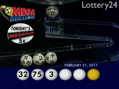 2017 02 21 Mega Millions Numbers and draw results