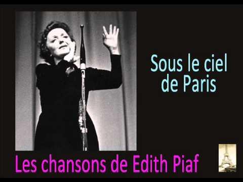 Клип Édith Piaf - Sous le ciel de Paris