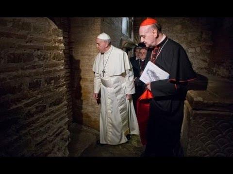 Relic of St. Peter's Bones Displayed At...