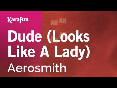 Karaoke Dude (Looks Like A Lady) - Aerosmith *