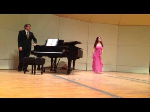 Emily Buckley's Junior Recital at Crane School of Music, SUNY Potsdam